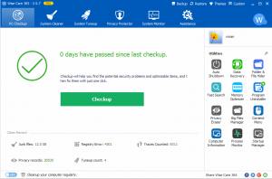 Wise Care 365 5.6.1 Build 557 Crack With Serial Key {Download}