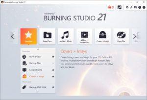 Ashampoo Burning Studio 21.7.1 Crack + Serial Key 2021 Latest